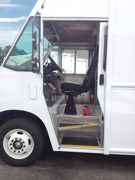 fedex ford p1200 stepvans for sale