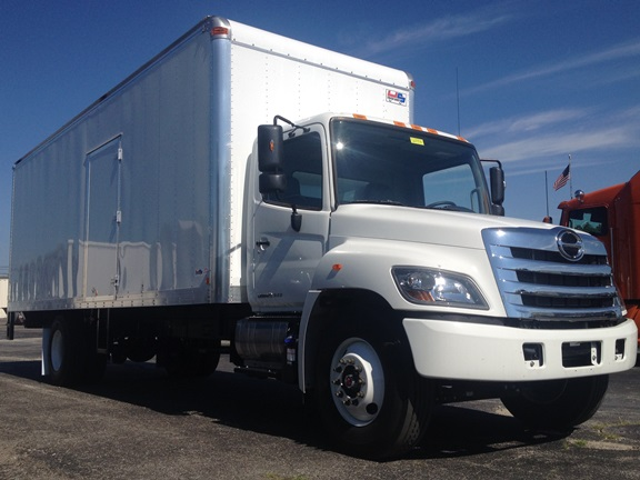 hino 26' straight truck for sale